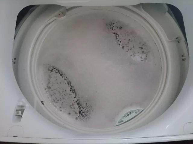 洗濯槽の清掃