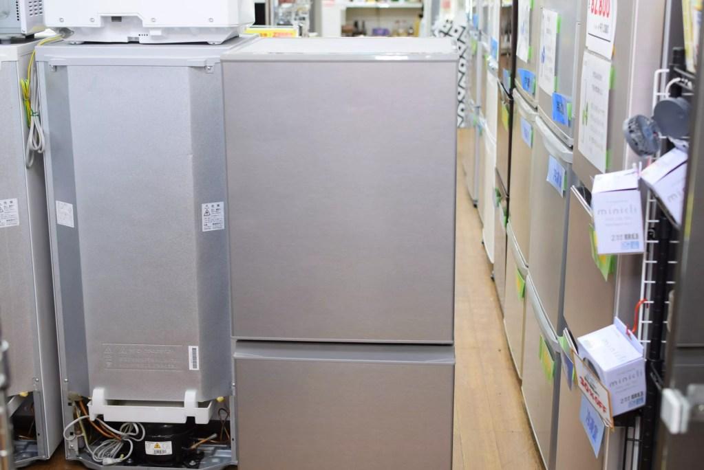 126L2ドア冷蔵庫 アクア AQR-13J