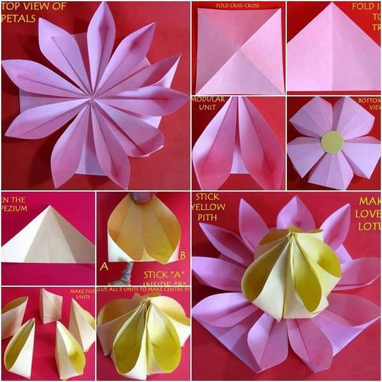 Easy paper origami flowers step by step guide mightylinksfo