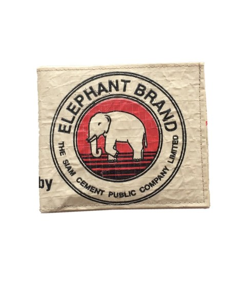 Elephant Brand Recycled Man's Wallet 1
