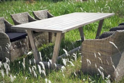 Reclaimed Teak Garden Dining Table