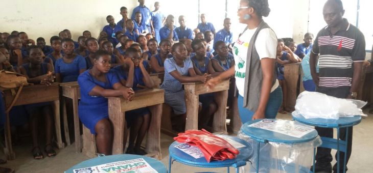 "Senior High Schools in Central Region Take Up ""Recycle Up Your School"""