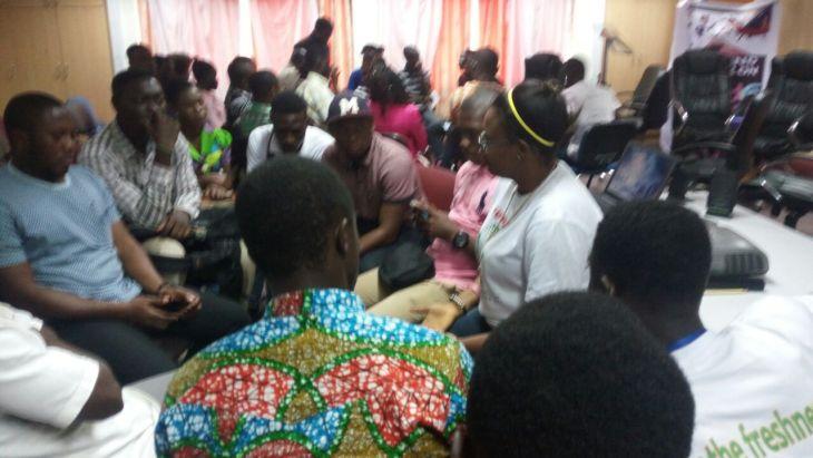 Recycle Up Ghana at BarCamp Takoradi
