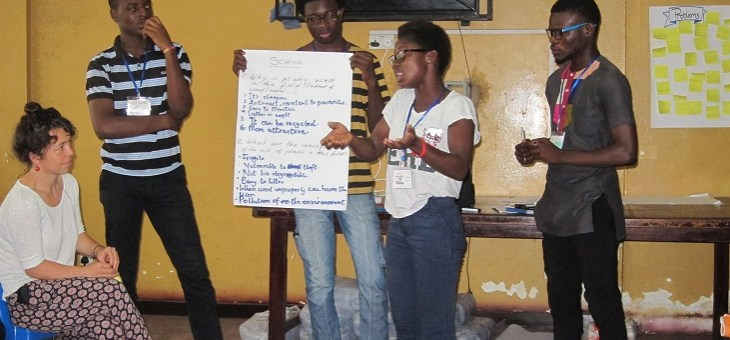 Day 2 in Accra: Communication and public speaking skills
