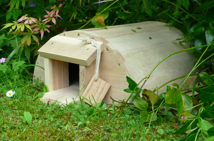 The Original hedgehog house