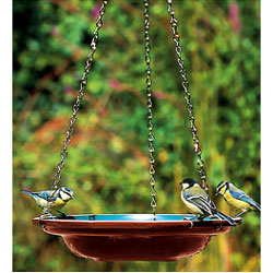 Ceramic Hanging Bird Bath / Water Dish