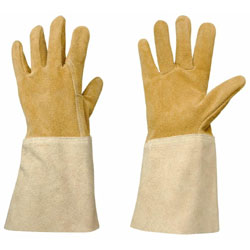 Rosieriste Leather Gauntlet Gardening Gloves