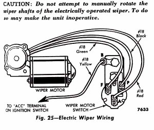 1956 F100  Electric Wiper Switch Wiring Problem  Ford Truck Enthusiasts Forums