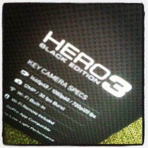 GoPro Hero3 BE