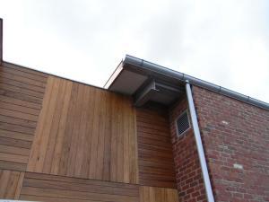 Timber and Brick Cladding