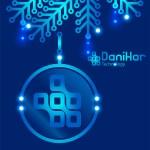 Digital Illustration Corporate Christmas Card