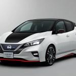 Digital Car Render Illustration Nissan Leaf