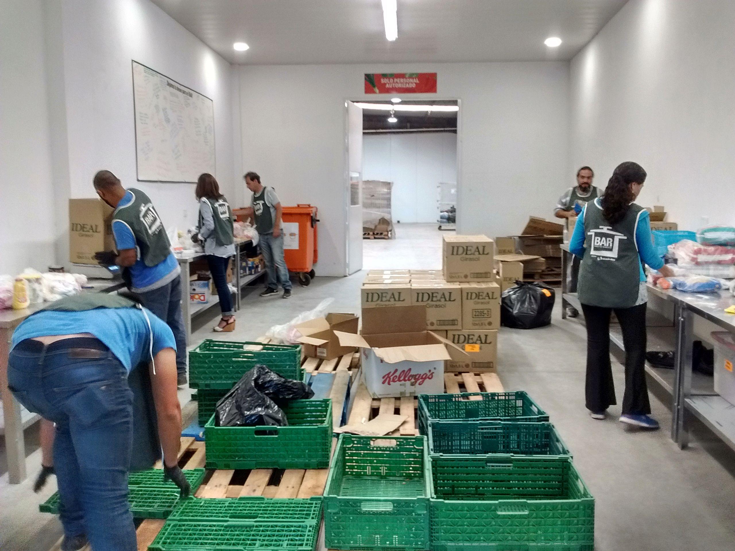 Con la modificación de la ley se espera que aumenten las donaciones de alimentos.