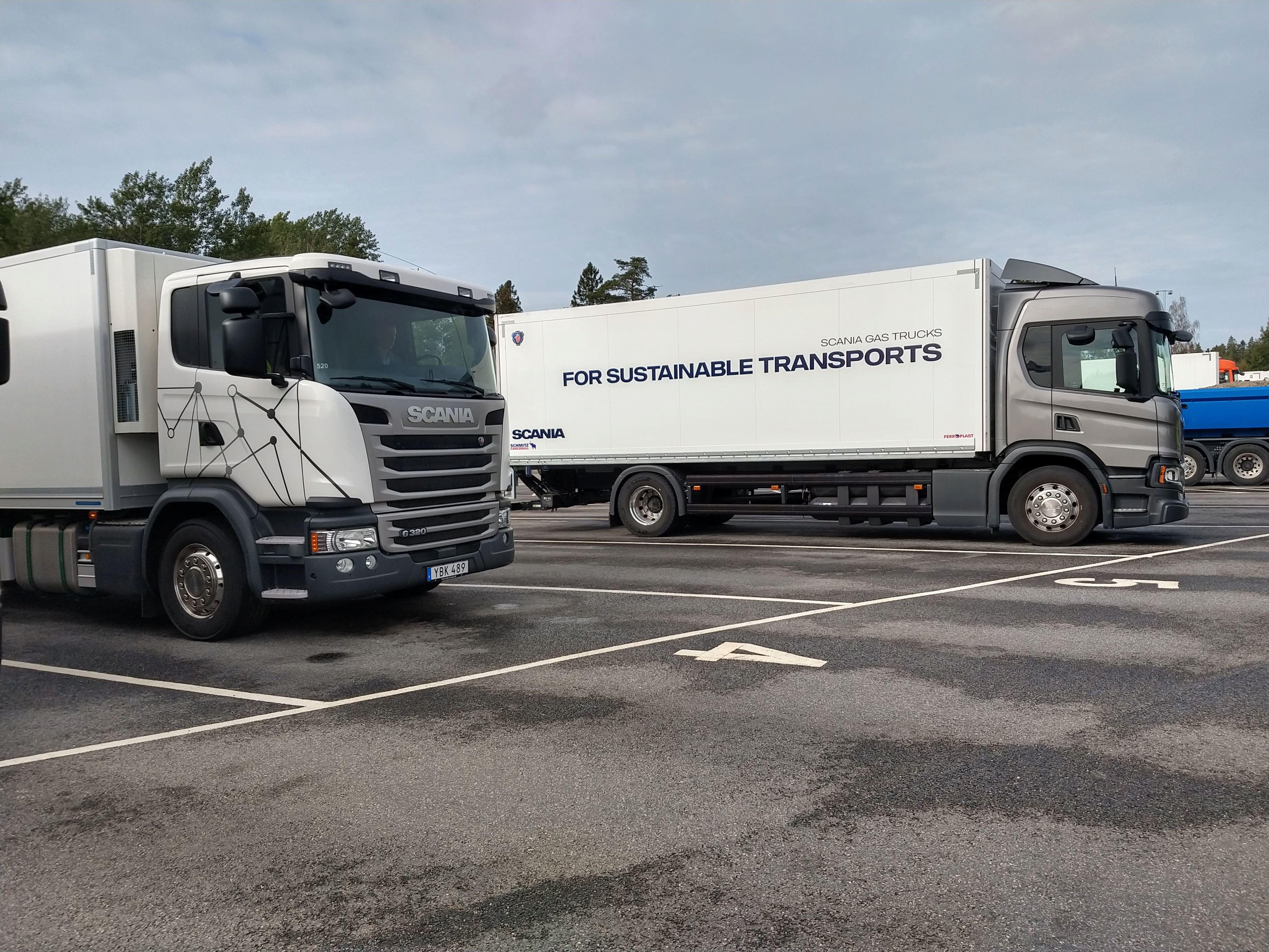 La empresa Scania ya no se define como una empresa de transporte sino de sustentabilidad. Foto: Scania.