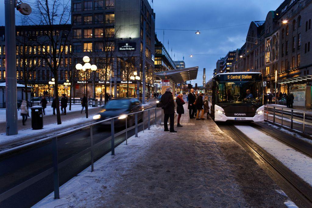 Scania Citywide LE. Stockholm, Sweden Photo: Dan Boman 2012