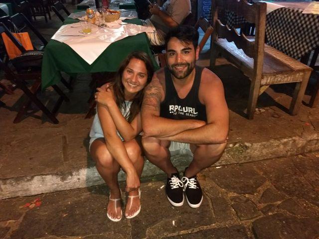 Mariano y Yaritza se conocieron en el trabajo y se van a casar.