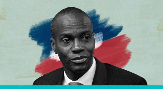 El presidente de Haití con la mirada perdida.
