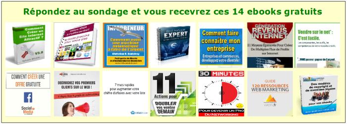 pack ebooks gratuits web marketing