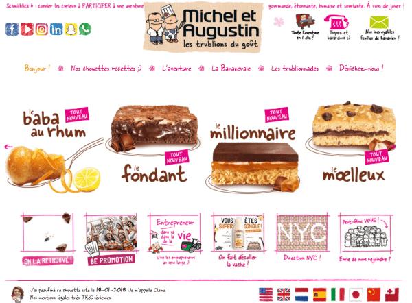 michel et augustin site web decale