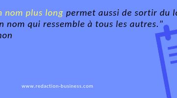 nom entreprise long citation Romain Simon