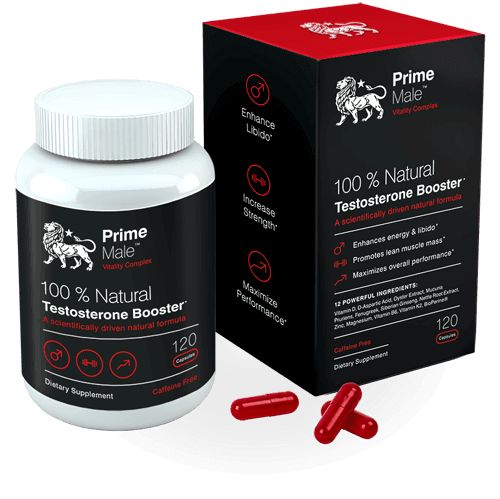 Prime Male Testosterone booster supplement
