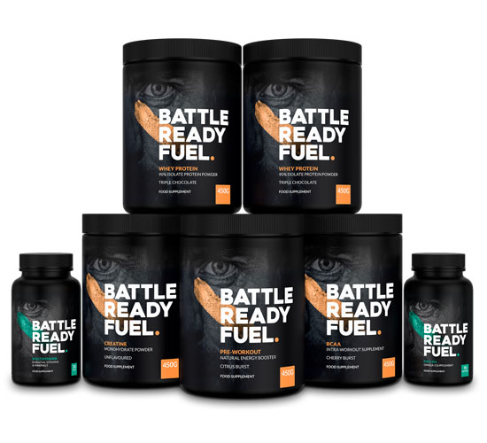 Battle Ready Fuel Muscle Building Products