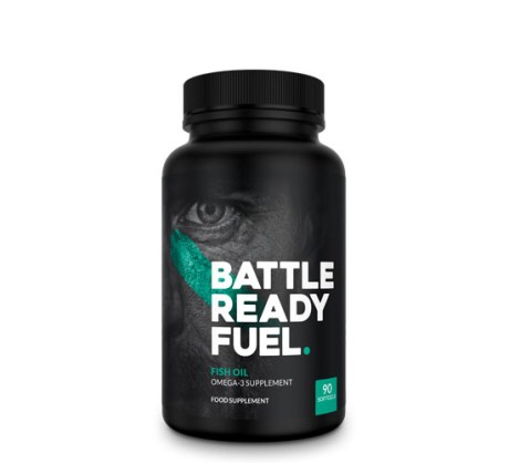 Battle Ready Fuel Omega 3 Fish Oil