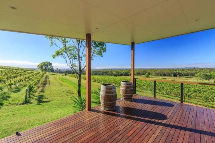 Lambloch Estate winery vines