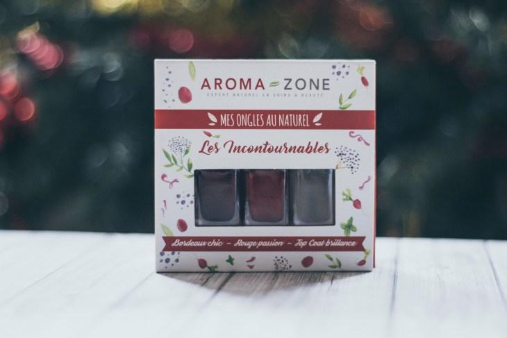 Coffret vernis naturels Aroma Zone