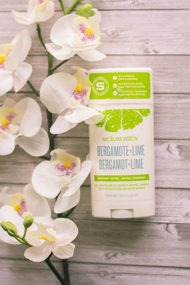 Déodorant clean Schmidt's bergamote lime