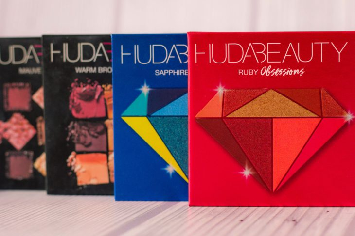 Collection Huda beauty obsession palettes
