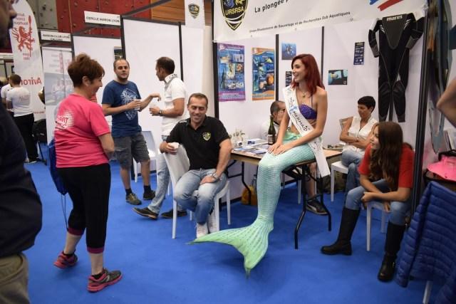 Alexandra Mermaid et le club de plongée URSRSA
