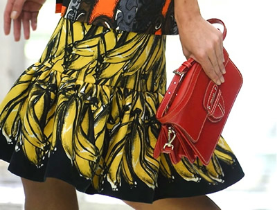 Prada gonna Banane – Primavera Estate 2011