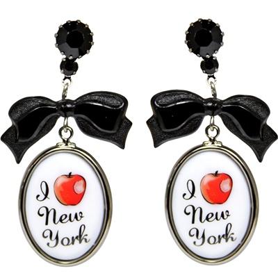 Tarina Tarantino orecchini I Love NY