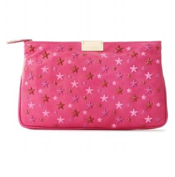 Jimmy Choo Zulu clutch con stelle