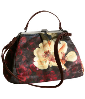 H&M borsa a fiori Conscious Collection