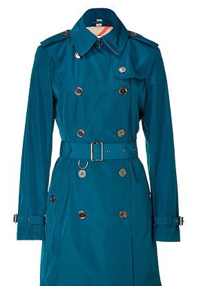 Burberry Brit trench blu
