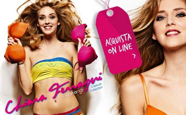 Chiara Ferragni for Yamamay – Capsule Collection