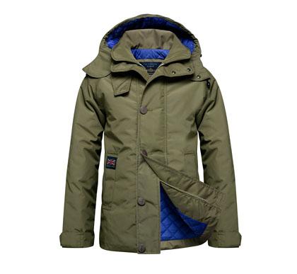 Henri Lloyd giacca in nylon con interno trapuntato a contrasto