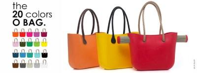 O BAG Fullspot – Borsa in gomma componibile: accessori e prezzo