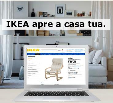 Da oggi su Ikea si puo' acquistare anche online per Liguria, Piemonte e Val d'Aosta