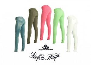Fornarina Perfect Shape pantaloni + borsa