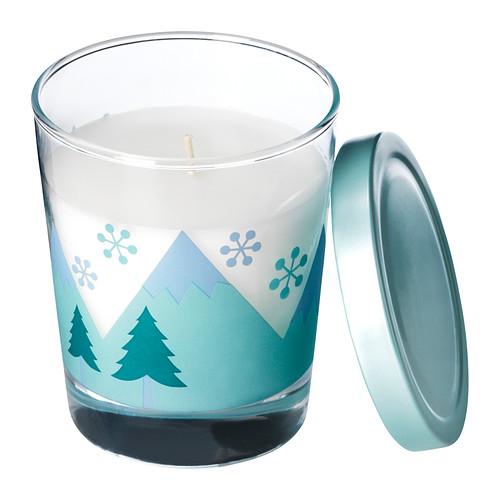 Ikea candela profumata con bicchiere – Idea Regalo di Natale