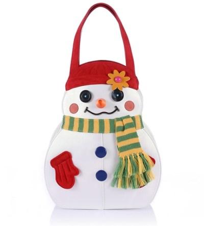 Braccialini borsa pupazzo di neve