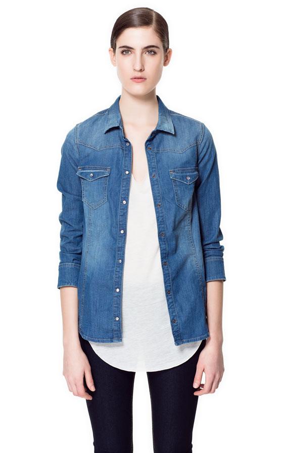 Zara Camicia Jeans