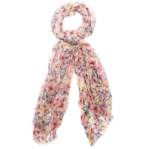 Accessorize foulard con farfalle