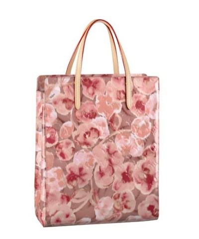 Vuitton Shopper Rose Velours