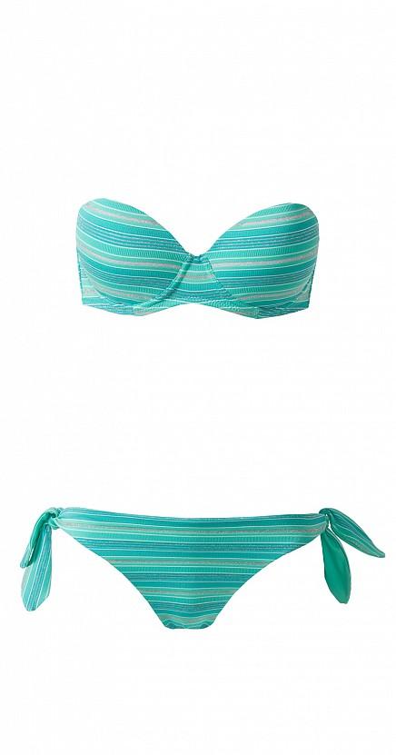 Tezenis bikini verde a fascia