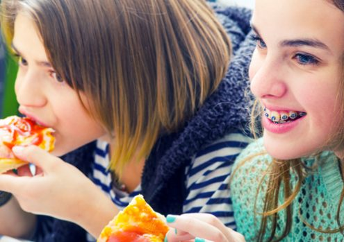 Soft foods to eat with braces at school