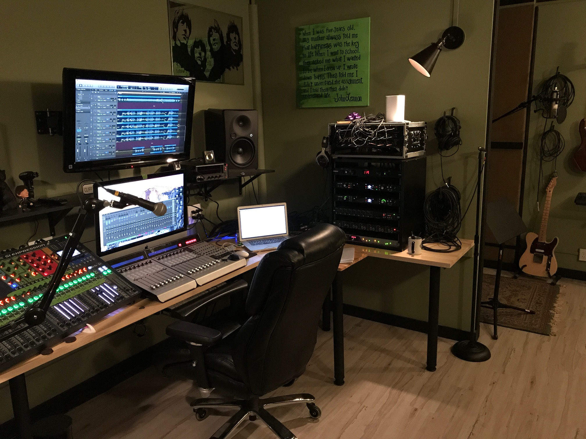 Red Arrow Studio Control Room